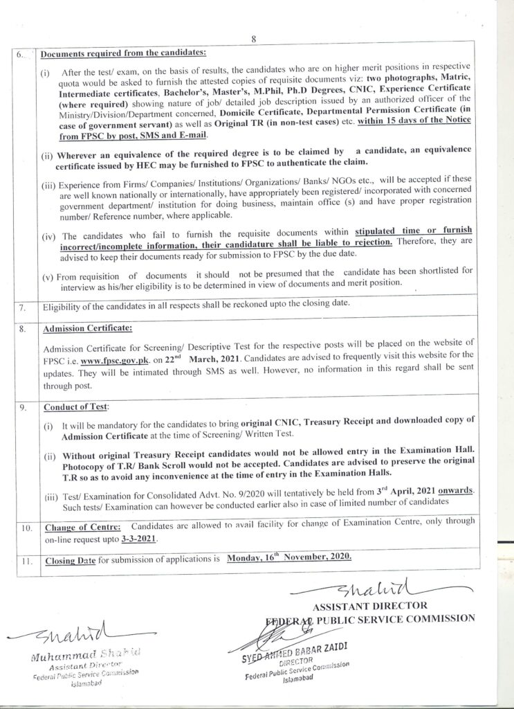 fpsc afpsc adverisement no 9dverisement no 9