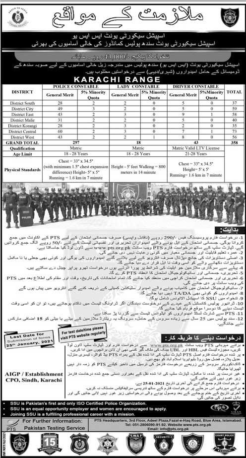 special security unit jobs 2021